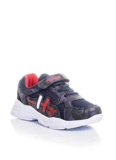 Tonny Black Lacivert Kırmızı Çocuk Spor Ayakkabı Tbz13 Lacivert